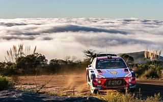 WRCアルゼンチン:競技3日目もヌービル首位堅持、ミケルセンが浮上しヒュンダイ1-2