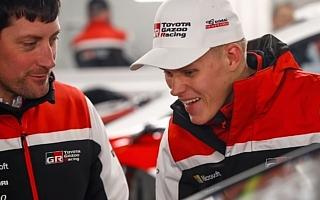 WRCアルゼンチン:シェイクダウンのトップはトヨタのタナック