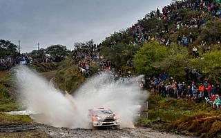 勝田貴元、初出場のアルゼンチンでWRC2部門5位フィニッシュ。一時はリードも