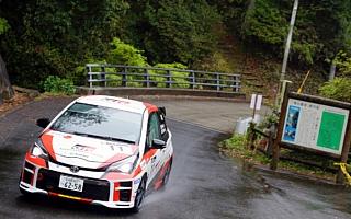 全日本ラリー唐津:KYB製ダンパーを新たに装着したTGR Vitz GRMN Rallyが今季3勝目