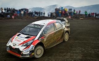 WRCチリ:初日を終えてトヨタのタナックが首位。勝田はWRC2の2番手