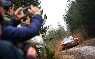 WRCチリ:シェイクダウンのトップタイムはミケルセン。勝田はWRC2の2番手