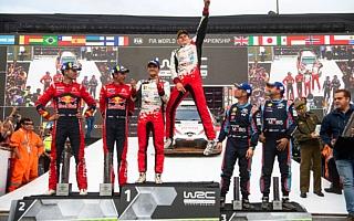 WRCチリ:タナック「全てが新しく感じられた」イベント後記者会見