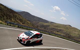 全日本ラリー久万高原:TGR Vitz GRMN Rally、厳しいラリーをミスなく走り切りシーズン4連勝を達成