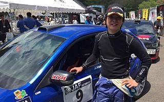 全日本ラリー久万高原:SS6までを終えて新井大輝が18.7秒差で首位