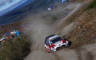 WRCチリ:競技2日目を終えてトヨタのタナックが首位堅守。勝田はWRC2トップに