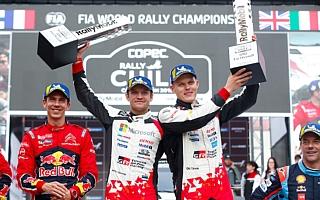 WRCチリ:タナックが第2戦以来となる今シーズン2勝目。パワーステージも制しドライバーズ選手権2位に浮上