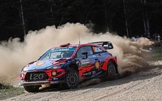 WRCイタリア:波乱の競技2日目を終えてソルドが首位、勝田はWRC2の3番手