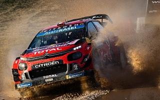 WRCイタリア:SS1を終えオジエ、ラッピのシトロエンが1-2。勝田はWRC2の5番手発進