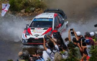 WRCイタリア:山場の競技3日目はタナックが逆転首位、勝田もWRC2の首位に