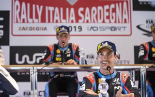 WRCイタリア:ソルド「すべてのことが勝利につながった」イベント後記者会見
