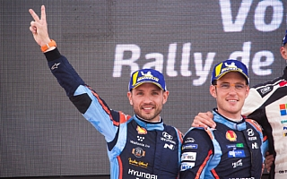 WRCポルトガル:ヌービル「2位を誇らしく思う」イベント後記者会見