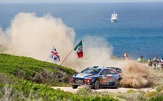 WRCイタリア:ヒュンダイ、過去2勝のサルディニアで選手権リード拡大を狙う