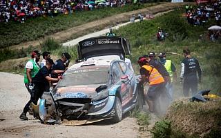 MHのWRCプレビュー・イタリア編:Mスポーツ、クラッシュしたグリーンスミス車の状況を分析