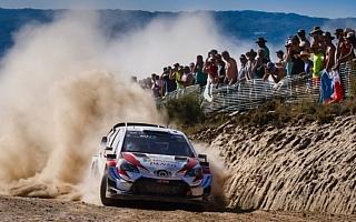 WRC第7戦ポルトガル:トヨタのタナックがチリに続き今季3勝目