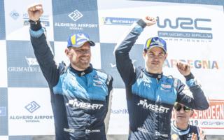WRCイタリア:スニネン「子どもの頃、テレビで聞いていた声だった」デイ4コメント集
