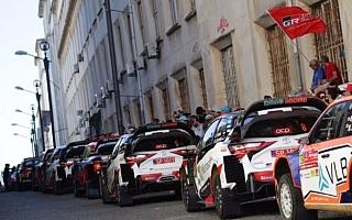 街並みに並ぶラリーカーたち ニャオキ&タクトのホゲホゲWRC@ポルトガル日記その2