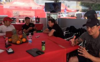 MHのWorld Rally News:サルディニア訪問のヒルボネン、フィエスタ全焼事件を語る