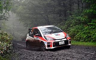 全日本ラリーモントレー:TGR Vitz GRMN Rally、難コンディションのなか今季5連勝を達成