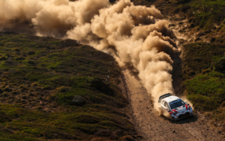 WRCイタリア:タナック、優勝目前のトラブルで総合5位に終わるもドライバーズ選手権首位に