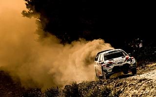 WRCイタリア:デイ2、不利な出走順を乗り越えタナックが総合3位。ミークは総合6位につける