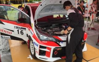 全日本ラリーカムイ:TGR、Vitz GRMN Rallyにドグミッションを投入