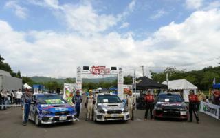 全日本ラリー横手:独走の新井大輝がエンジントラブル、勝田範彦が第2戦以来の勝利