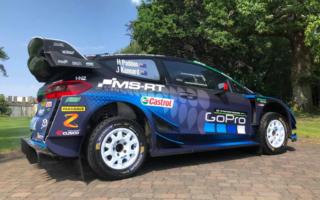 WRCフィンランド参戦のパッドン車にCUSCOロゴ、キャロッセがサポート