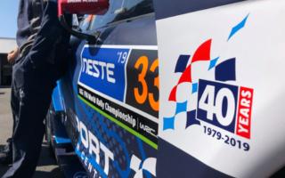 Mスポーツ・フォード、ウィルソンのラリー業40周年を記念してマシンにロゴ