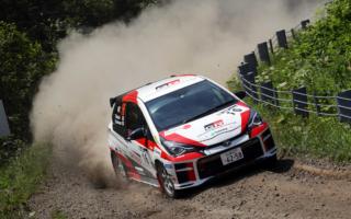 全日本ラリーカムイ:新ギヤボックス投入のTGR Vitz GRMN Rally、習熟のラリーに徹し3位入賞