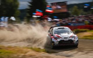WRCフィンランド:接戦の競技2日目はトヨタのラトバラが首位。勝田はWRC2の3番手