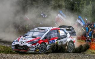 WRCフィンランド:競技3日目はトヨタのタナックが首位。勝田はSS12でリタイア