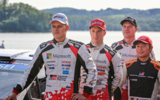 WRCドイツ:勝田貴元「素晴らしいチームにいる状況を存分に活用しなくてはならない」プレ会見