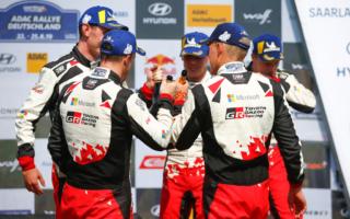 WRCドイツ:タナック「最終日は1-2-3フィニッシュに専念」デイ4コメント集