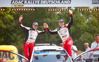 WRCドイツ:アンティラ「あの夜、7000人がヤリに落ち着け! と言った」イベント後記者会見