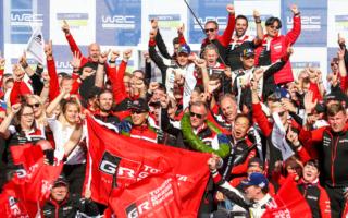 WRCフィンランド:豊田章男チーム総代表「みんなへ祝福と感謝の言葉を贈りたい」コメント全文