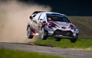 WRCドイツ:競技3日目は波乱の展開もタナックを先頭にトヨタがトップ3独占。勝田は10番手
