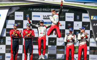 WRCフィンランド:タナックが2年連続優勝、ラトバラは今季最高位の3位表彰台を獲得