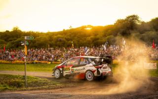 WRCドイツ:SS1を終えて昨年優勝のタナックが総合首位に立つ。ミークは5位、ラトバラが6位