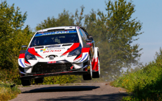 WRCドイツ:タナックが4本のSSベストタイムで首位を堅持。ミークは総合4位、ラトバラは総合5位につける