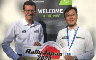 ラリージャパン開催事務局の高橋浩司氏がコメント