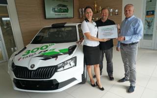 MHのWorld Rally News:シュコダ、300台目のファビアR5を納品