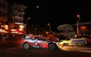 WRCトルコ:SS1はヒュンダイのミケルセンとヌービルが同タイムでトップ