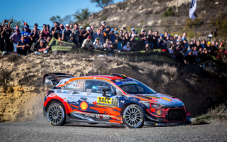 WRCスペイン:タイトルへの望みをかけてヌービルが首位に浮上、勝田はトラブルで後退