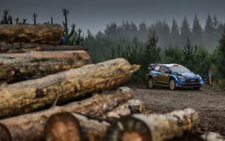 WRCラリーGB:戦線復帰するMスポーツ・フォードのエバンス「モチベーションは最高」