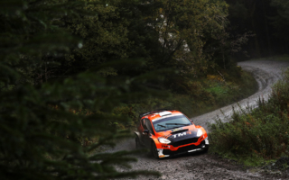 WRCラリーGB: 勝田貴元、初出場のラリーGBで完走を果たす