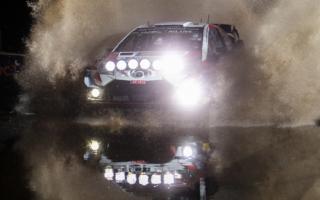 WRCラリーGB:SS1はトヨタのクリス・ミークが制す。ペターが3番手