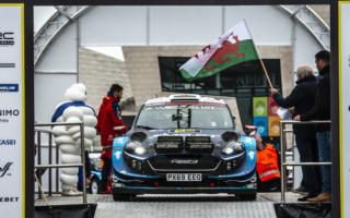 WRCラリーGB:エバンス「うれしくて、長い一日」デイ2コメント集