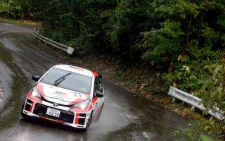 全日本ラリー高山:TGR Vitz GRMNがクラス2位獲得、コ・ドライバー安藤裕一の王座も確定