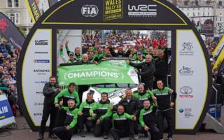 WRCラリーGB:ロバンペラのWRC2Proタイトルが確定